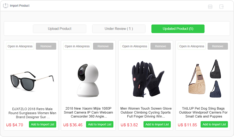 How to import products from Aliexpress? - EPROLO