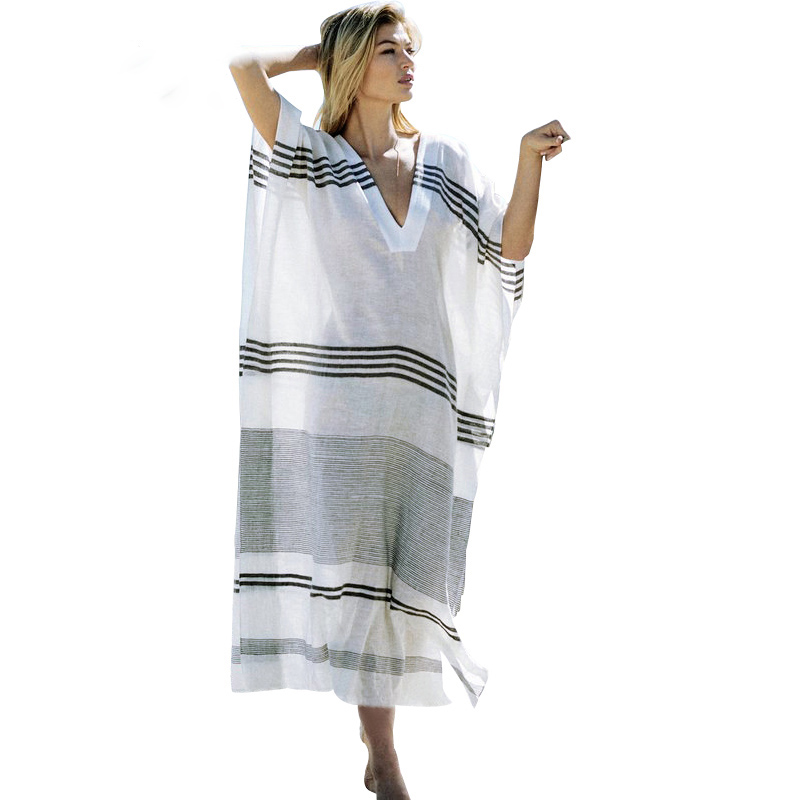 Fitshinling-Big-size-striped-beach-long-dress-2018-V-neck-cloak-sleeve-maxi-dresses-women-summer (1).jpg