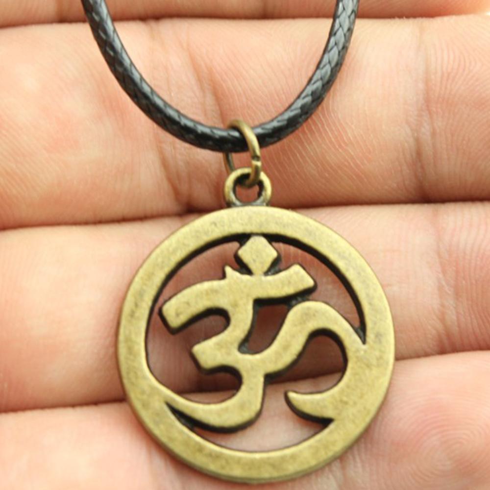 WYSIWYG-de-2-colores-bronce-antiguo-Color-de-plata-antiguo-OM-colgante-de-cuero-collar-de.jpg