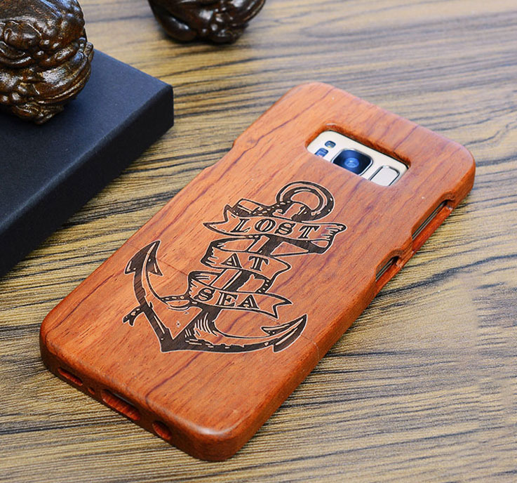 Phone - Real Genuine Rosewood Case For Samsung Galaxy s7 g930 s7 edge g935 By Wooden Laser Carving Phone Cover Wood